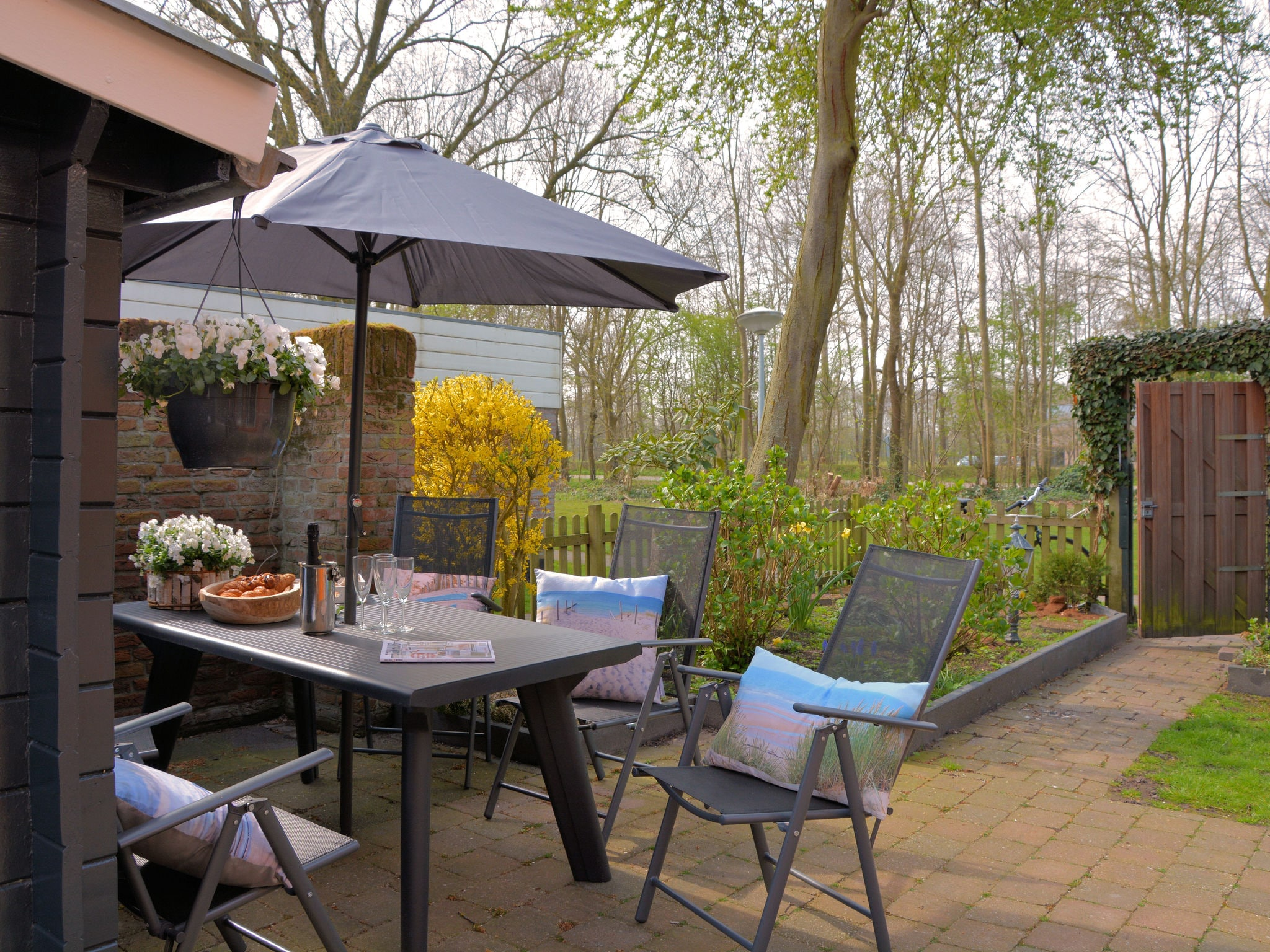 Holland | North Sea Coast South | Holiday home Strandlopertje | all year | TerraceBalcony