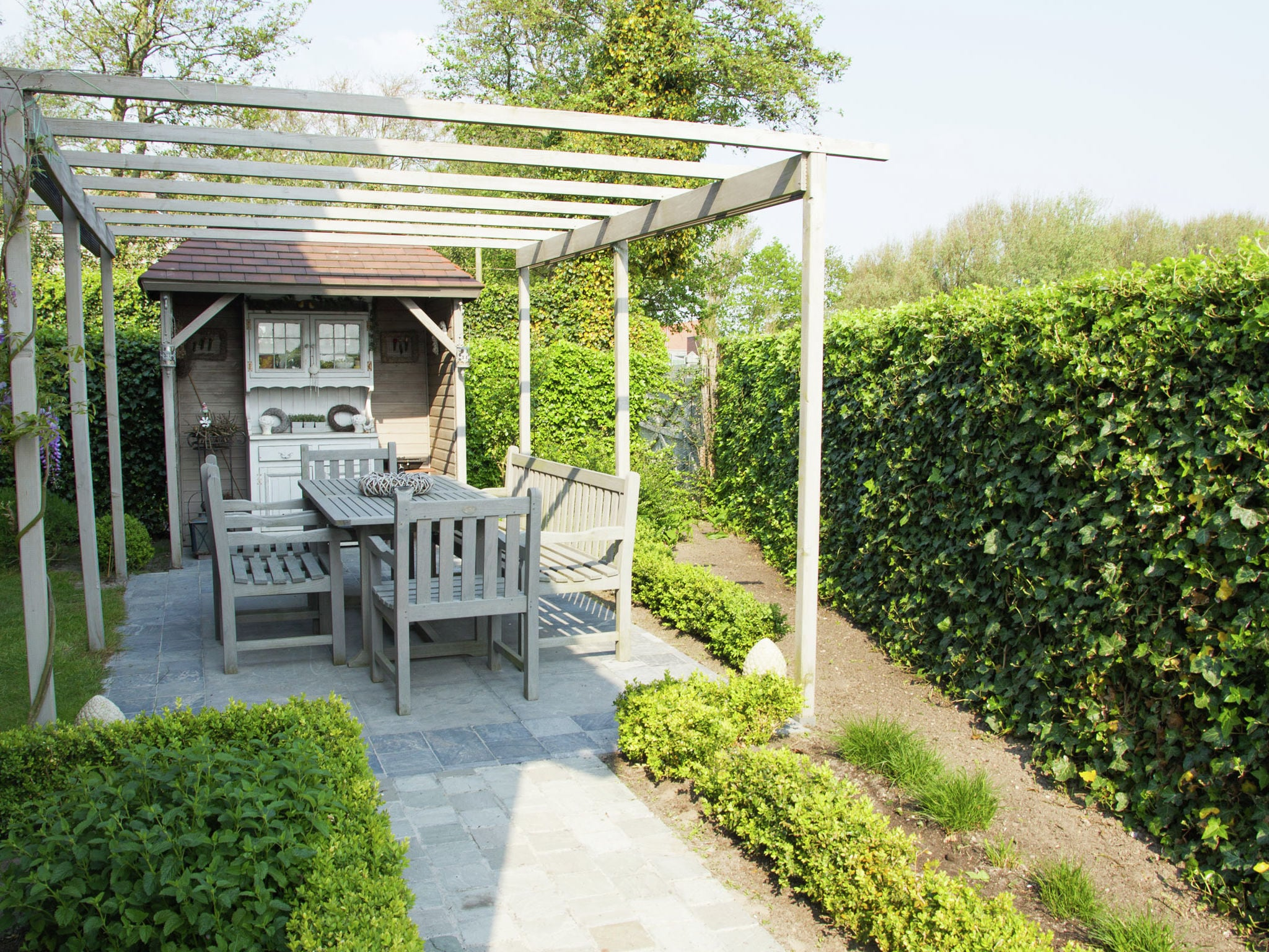 Holland | Zeeland | Holiday home Zeeuwse Schelp | all year | TerraceBalcony