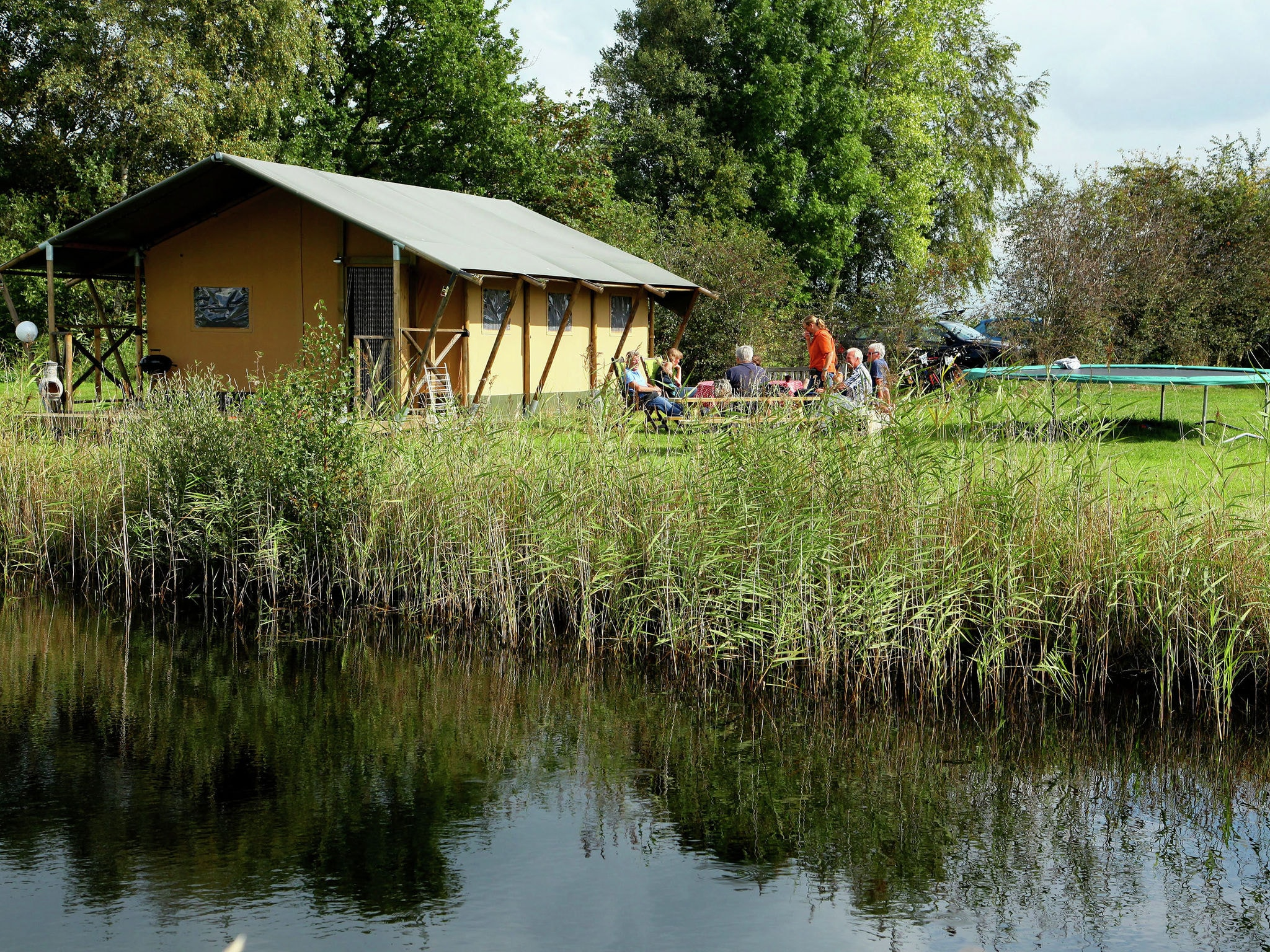 Holland | Groningen | Holiday home Groninger Lodge I | all year | GardenSummer