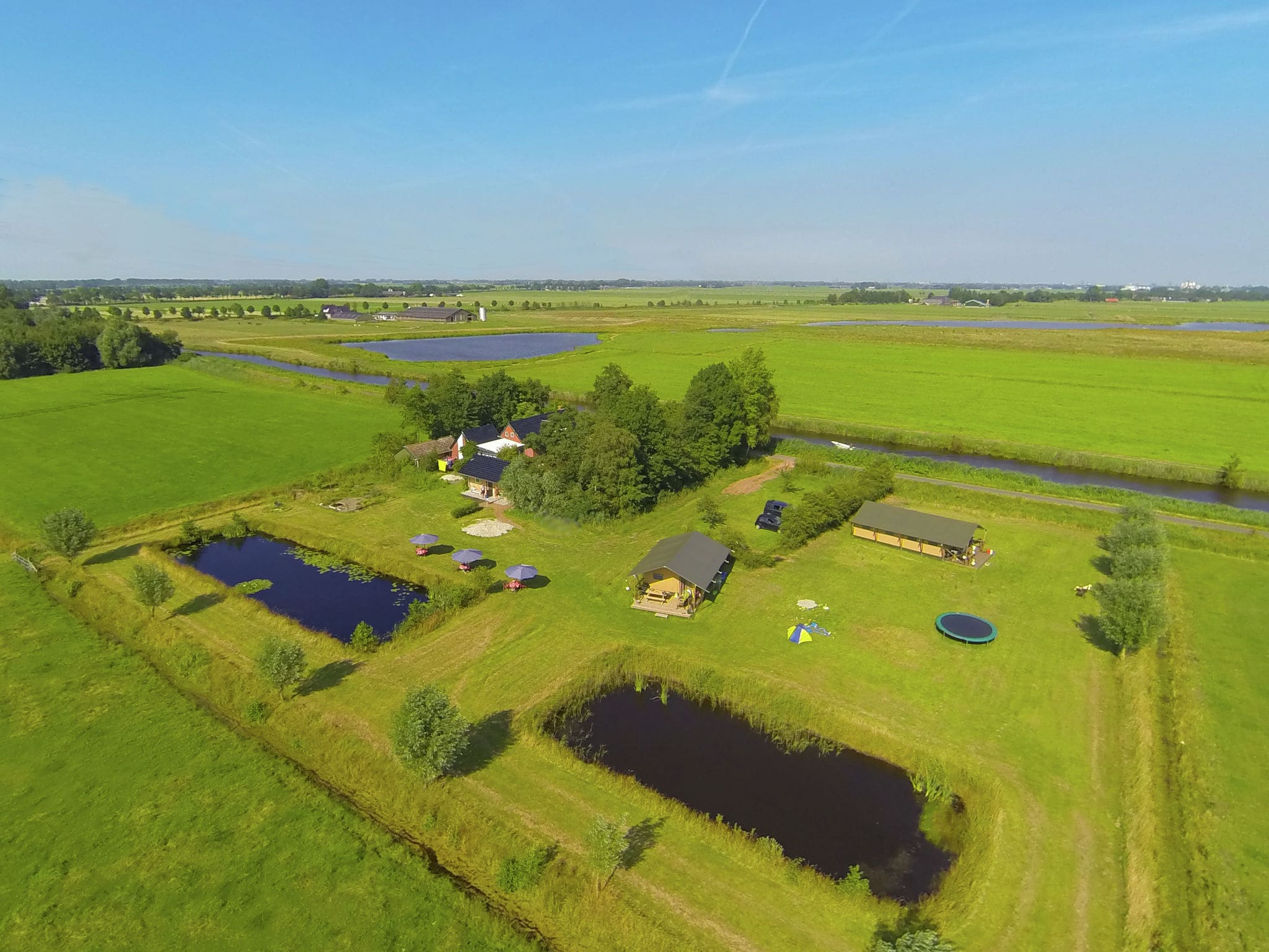 Holland | Groningen | Holiday home Groninger Lodge I | all year | ExteriorSummer