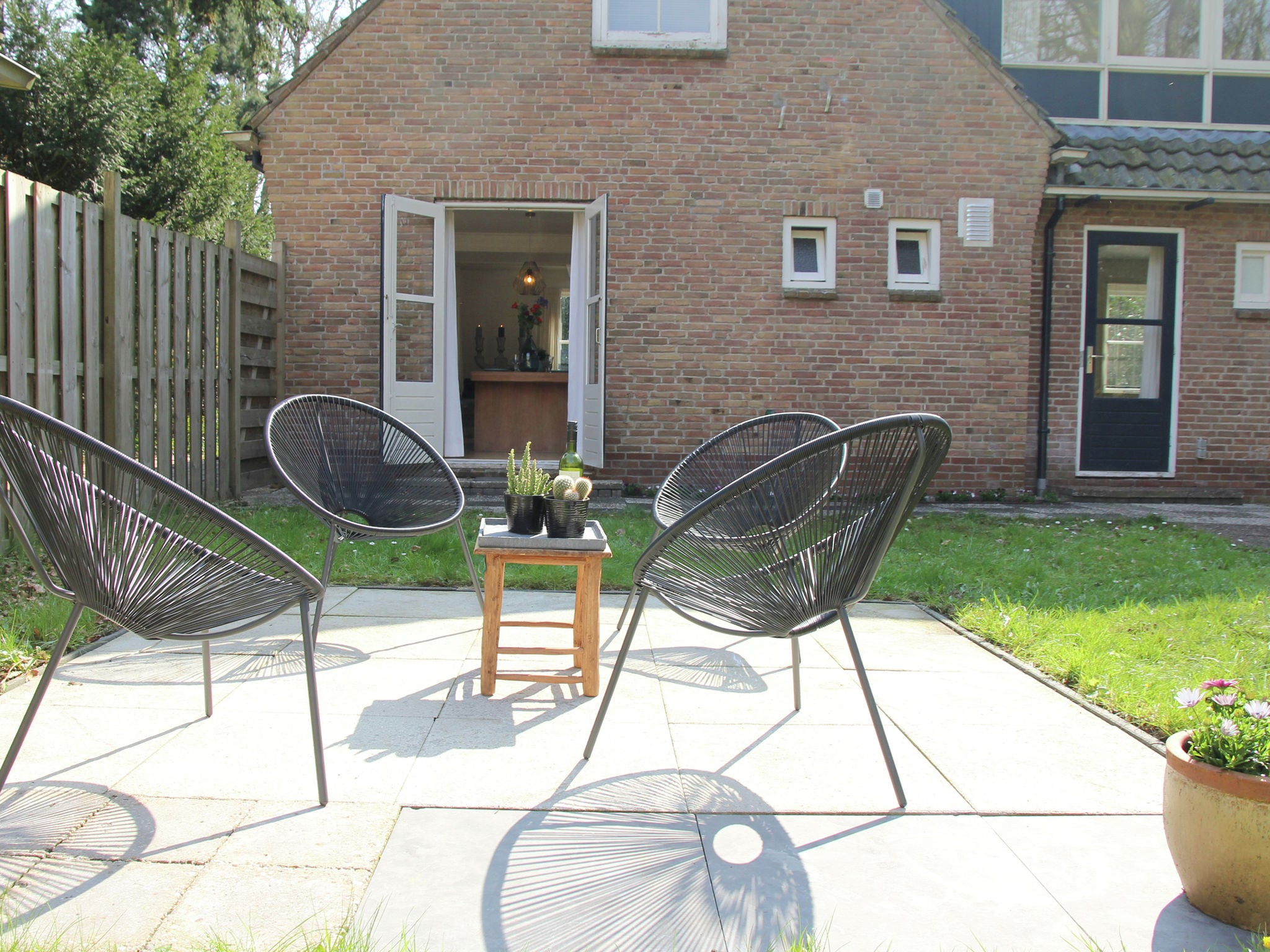 Holland | North Sea Coast North | Holiday home Bij 't Bos | all year | TerraceBalcony