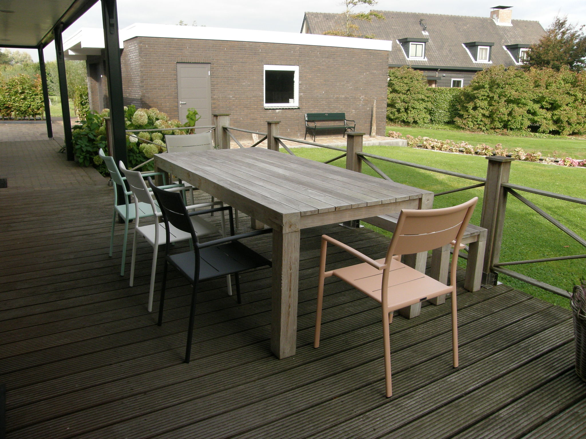 Holland | North Sea Coast South | Holiday home Het Dijkhuys | all year | TerraceBalcony
