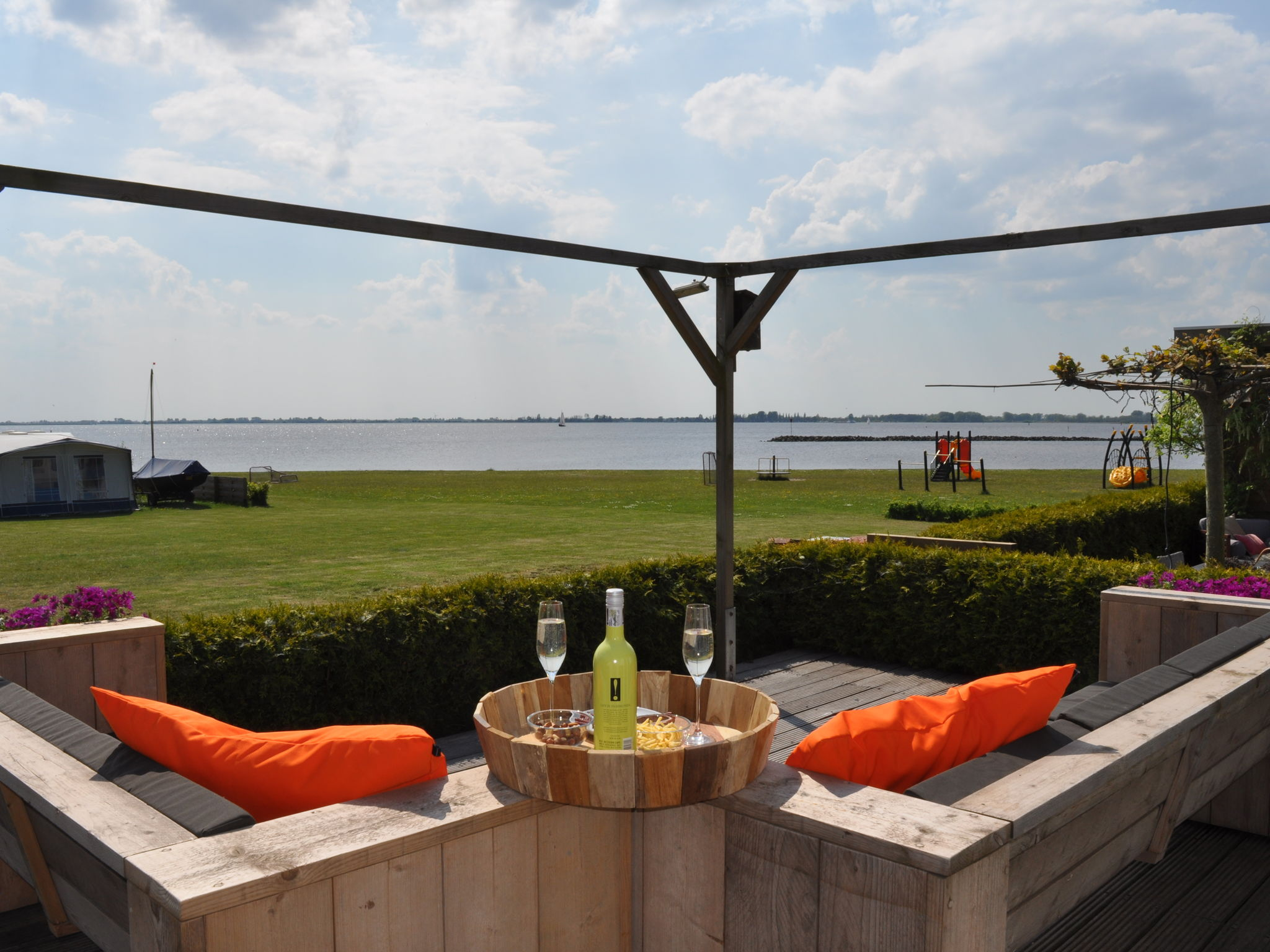 Holland | Friesland | Holiday home Terherne Beach | all year | TerraceBalcony
