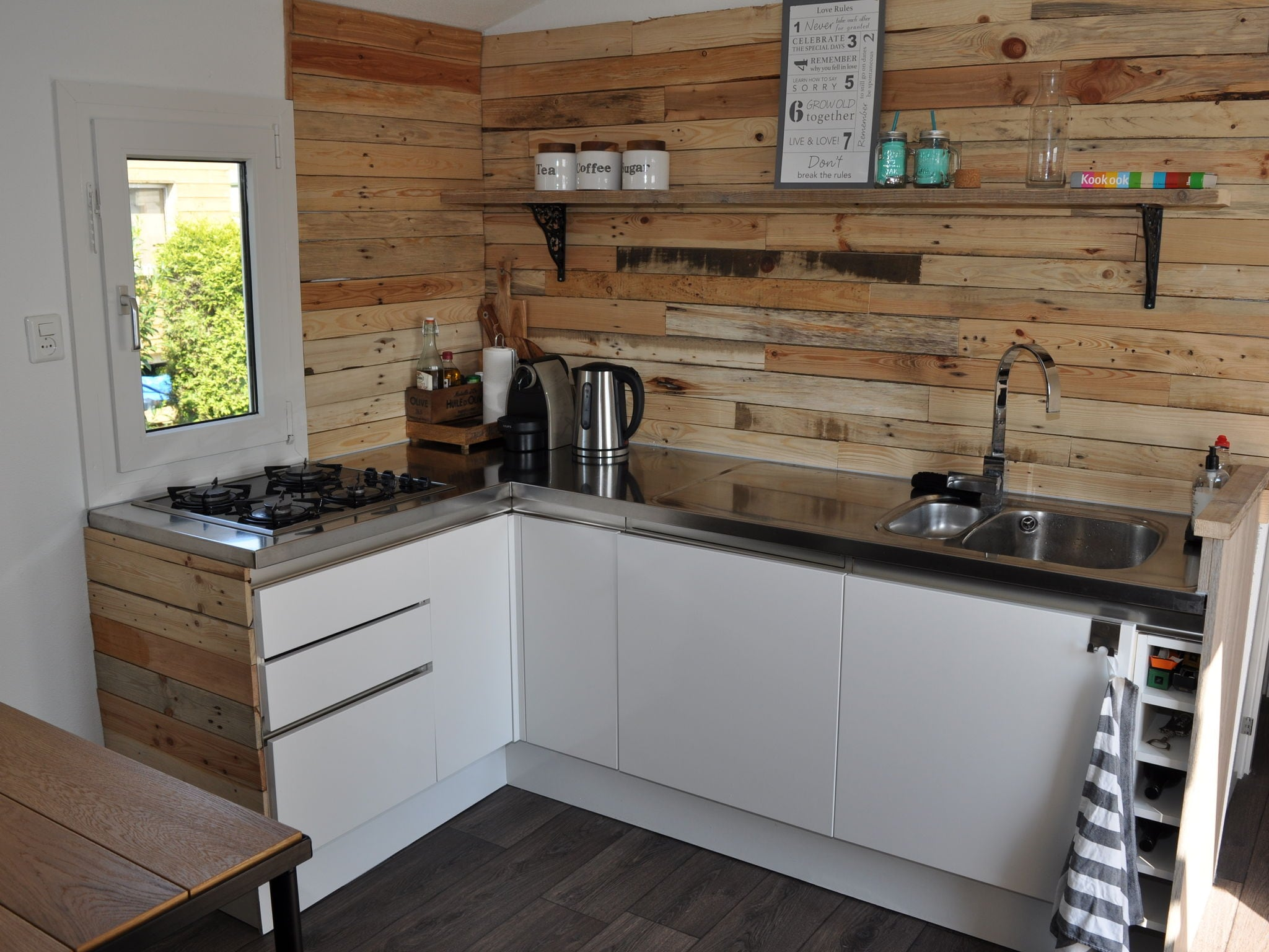 Holland | Friesland | Holiday home Terherne Beach | all year | Kitchen