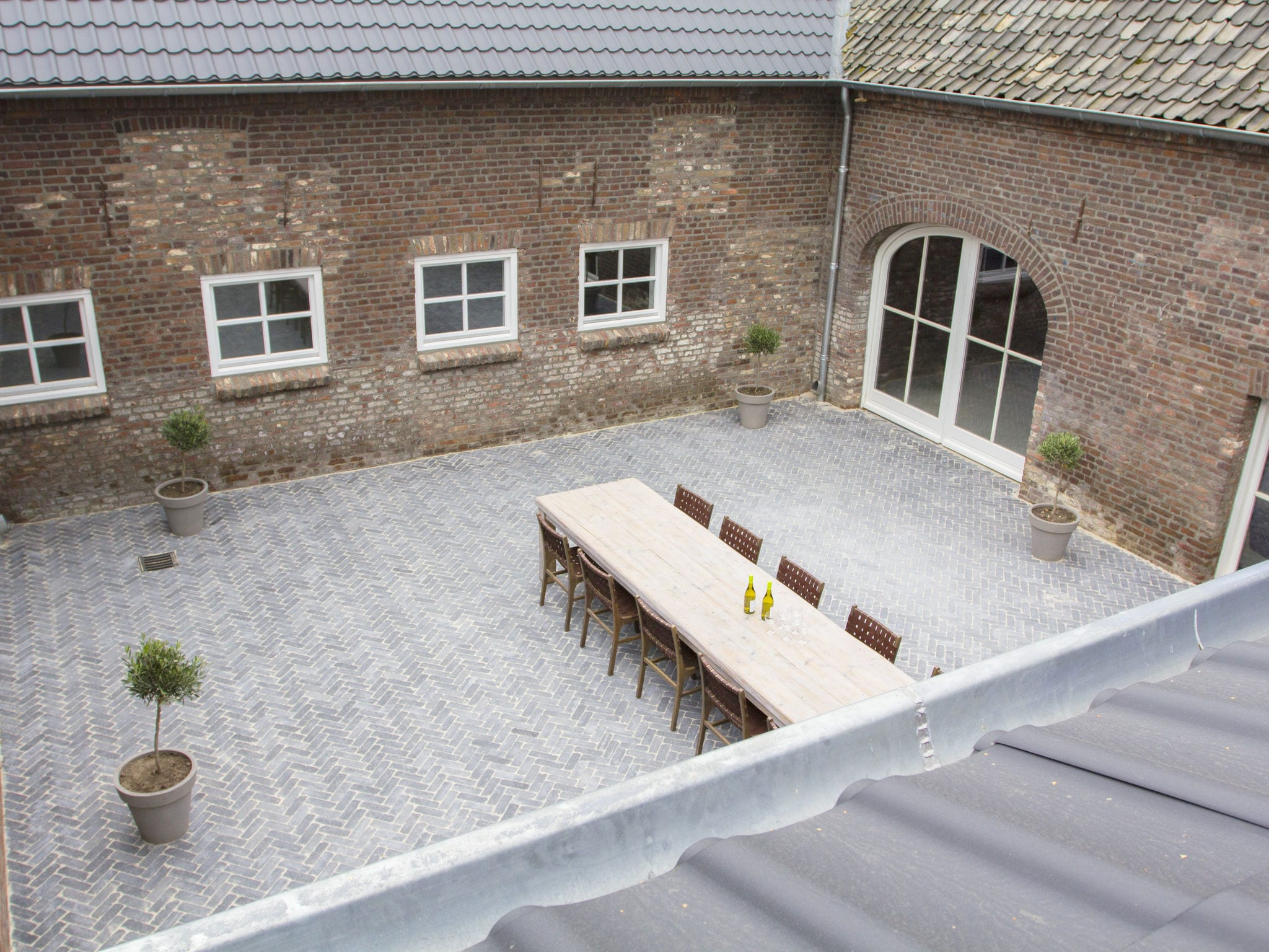 Holland | Limburg | Holiday home Kasteelboerderij Gunhof | all year | TerraceBalcony