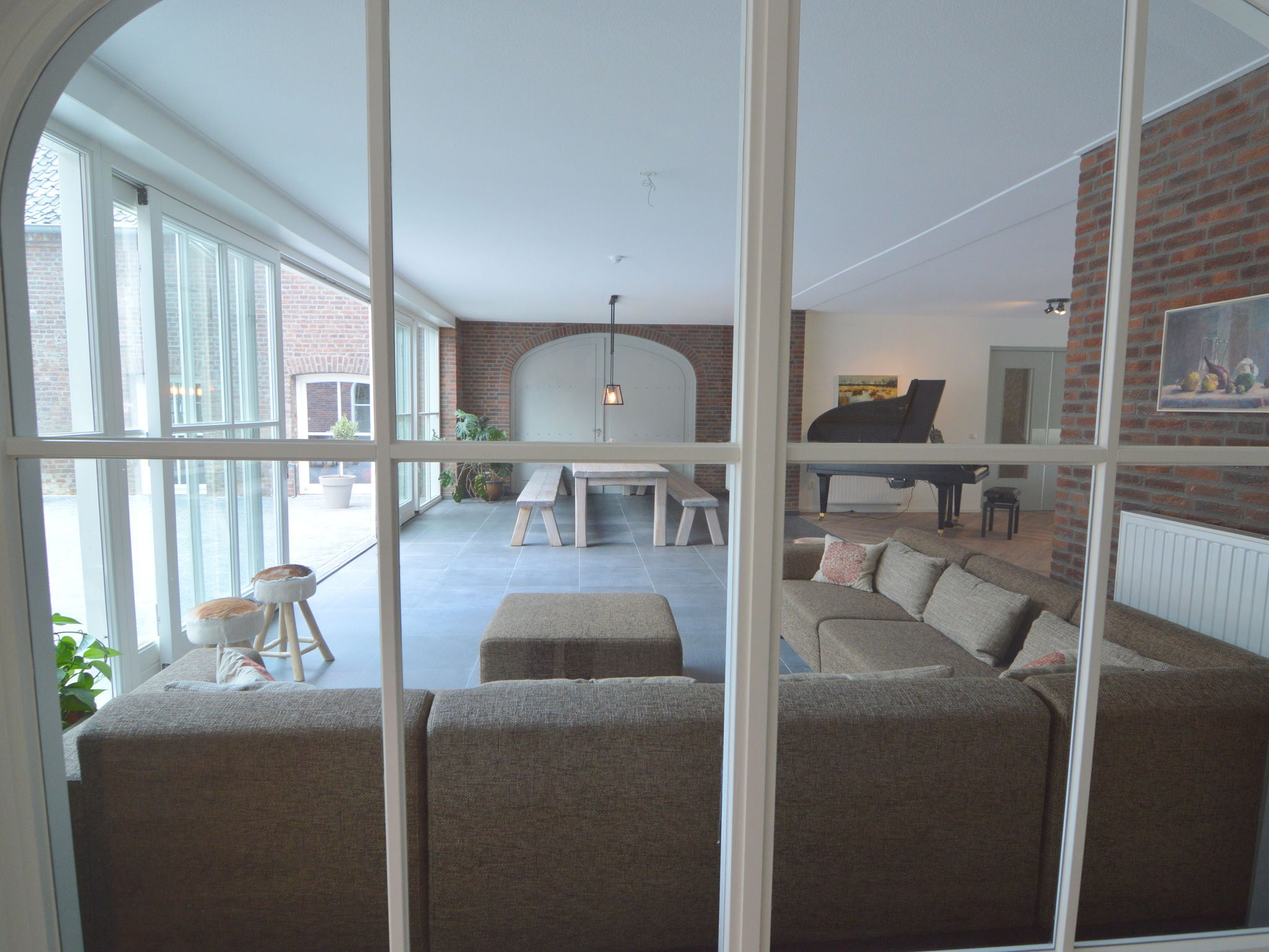 Holland | Limburg | Holiday home Kasteelboerderij Gunhof | all year | LivingRoom