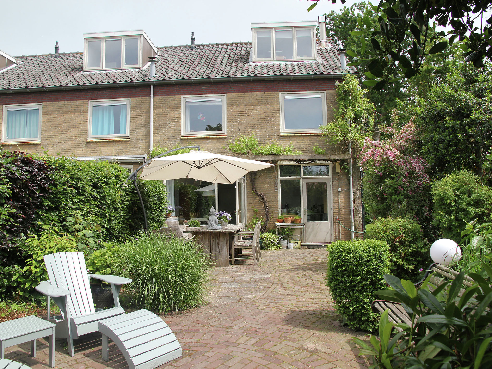 Holland | North Sea Coast North | Holiday home Sunny Garden | all year | ExteriorSummer