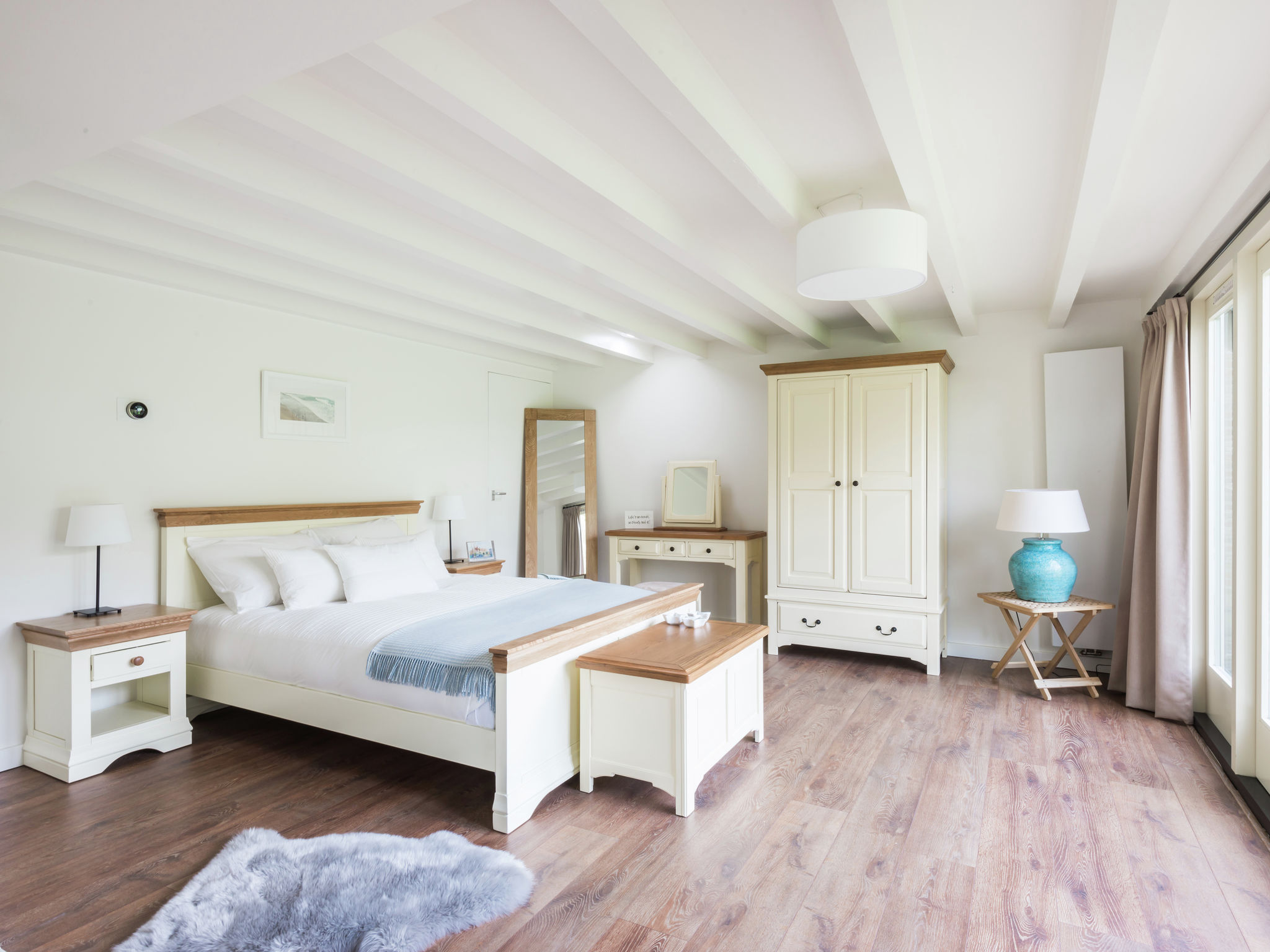 Holland | North Sea Coast South | Holiday home The Orangerie | all year | BedRoom