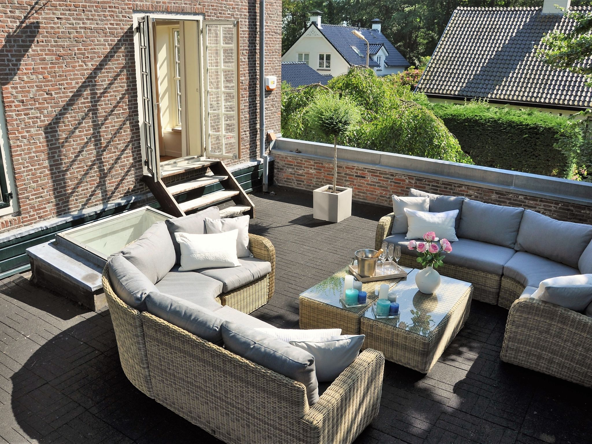 Holland | North Sea Coast South | Holiday home The Orangerie | all year | TerraceBalcony