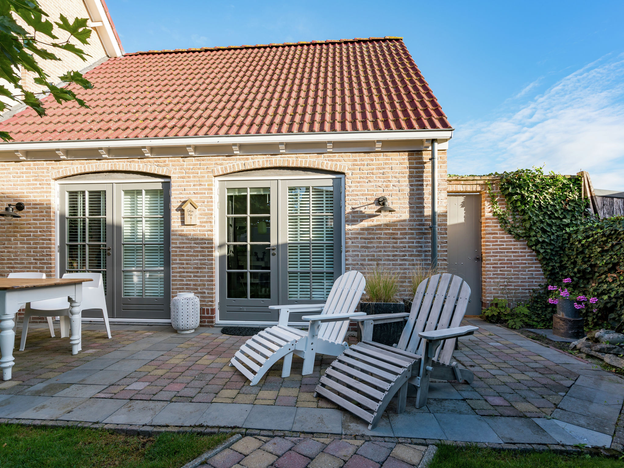 Holland | Zeeland | Holiday home Casa Duo | all year | ExteriorSummer