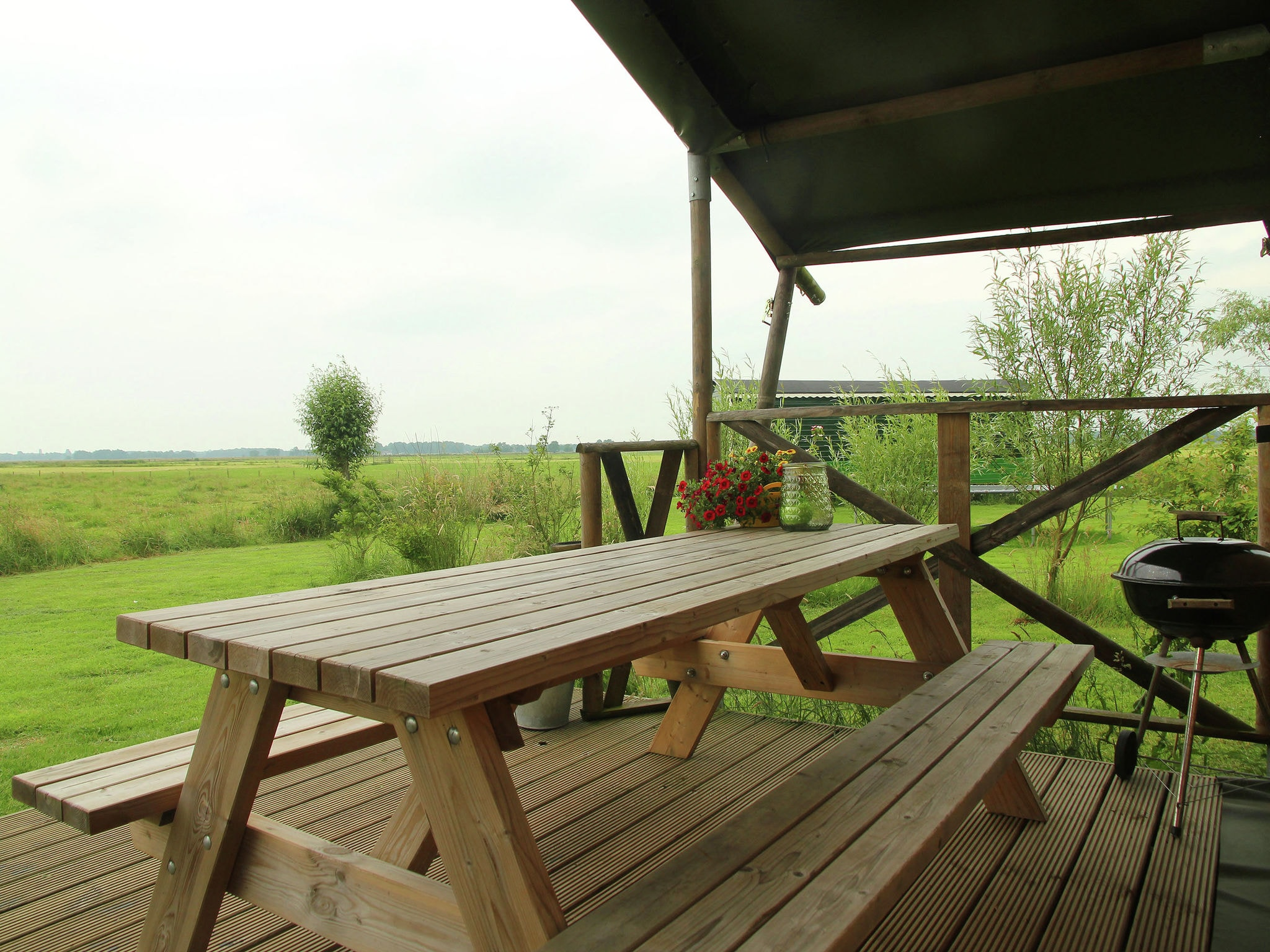 Holland | Groningen | Holiday home Groninger Lodge II | all year | TerraceBalcony