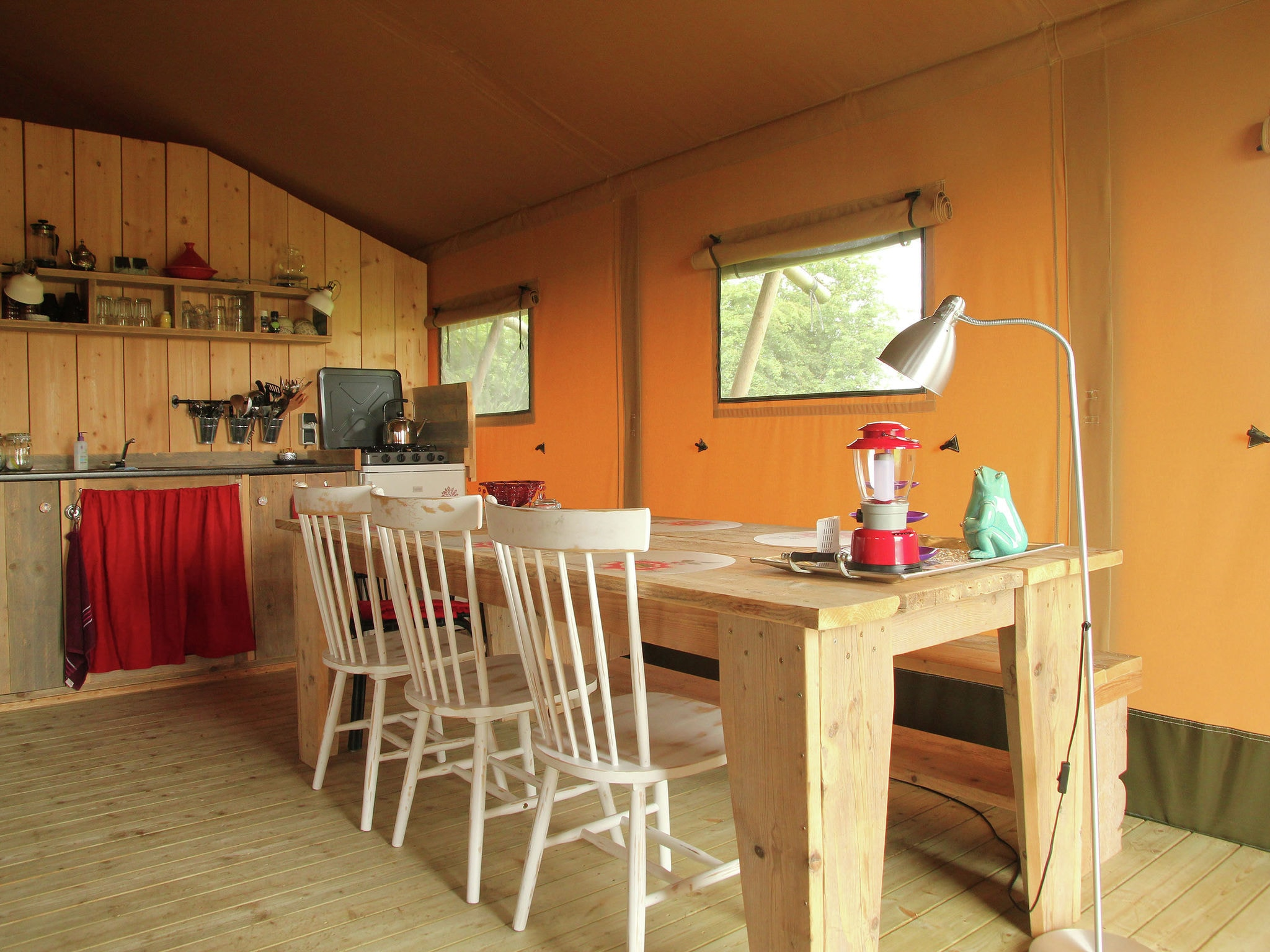 Holland | Groningen | Holiday home Groninger Lodge II | all year | DiningRoom