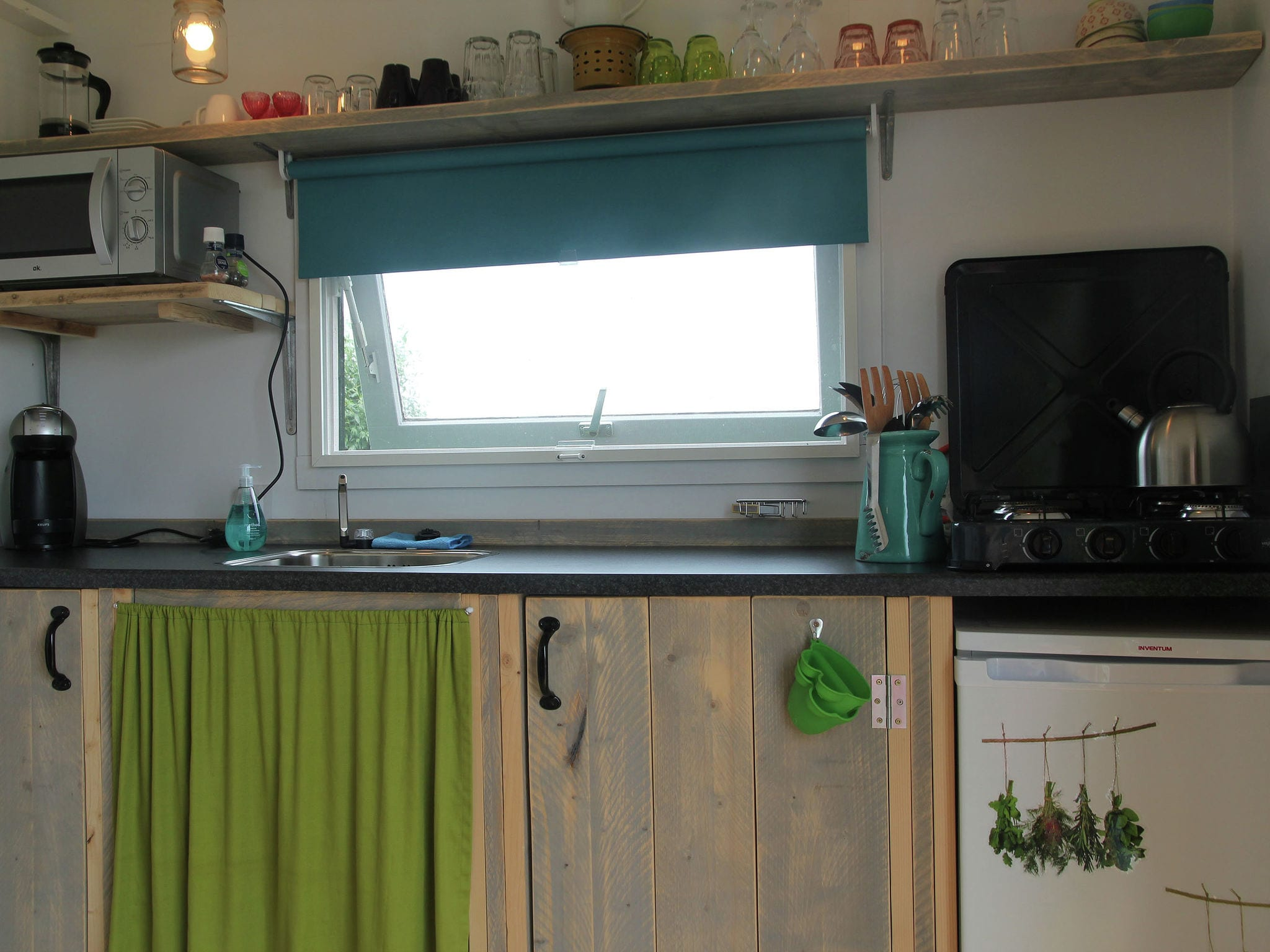 Holland | Groningen | Holiday home Pipowagen Groningen | all year | Kitchen