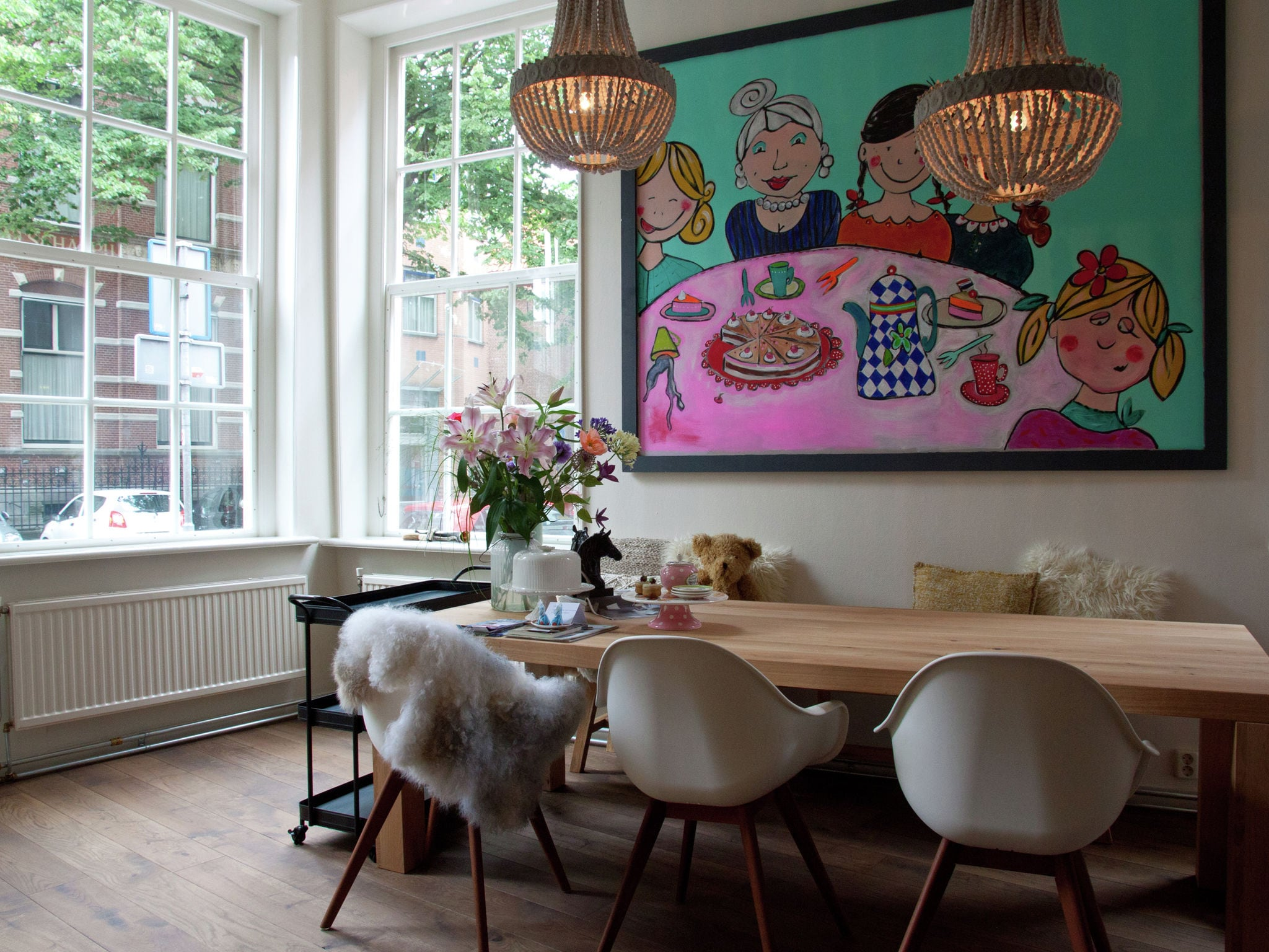 Holland | Friesland | Holiday home Luxe Leeuwarden | all year | DiningRoom