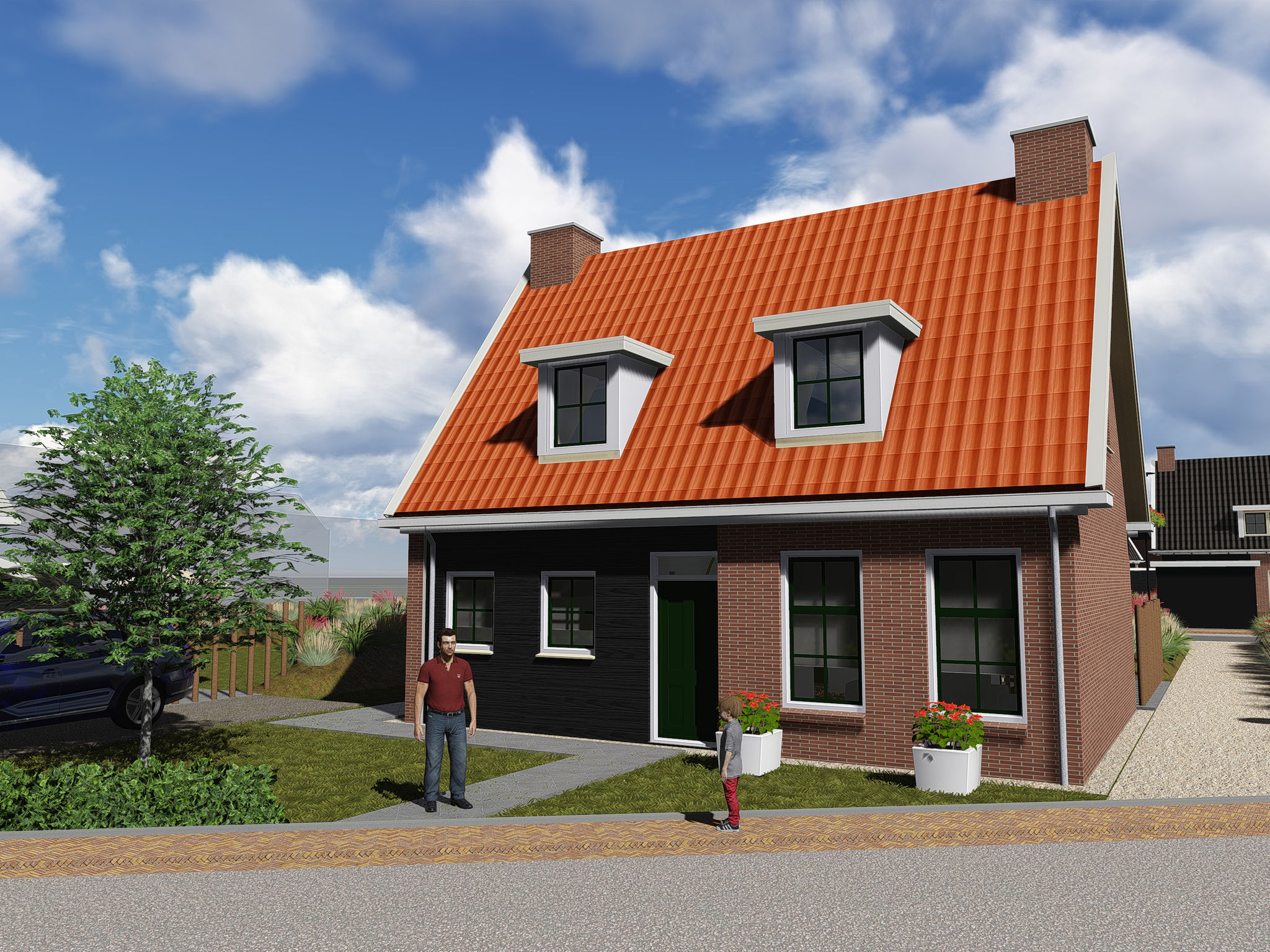 Holland | Zeeland | Holiday home Zeeuwse Pracht Kindervilla | all year | ExteriorSummer