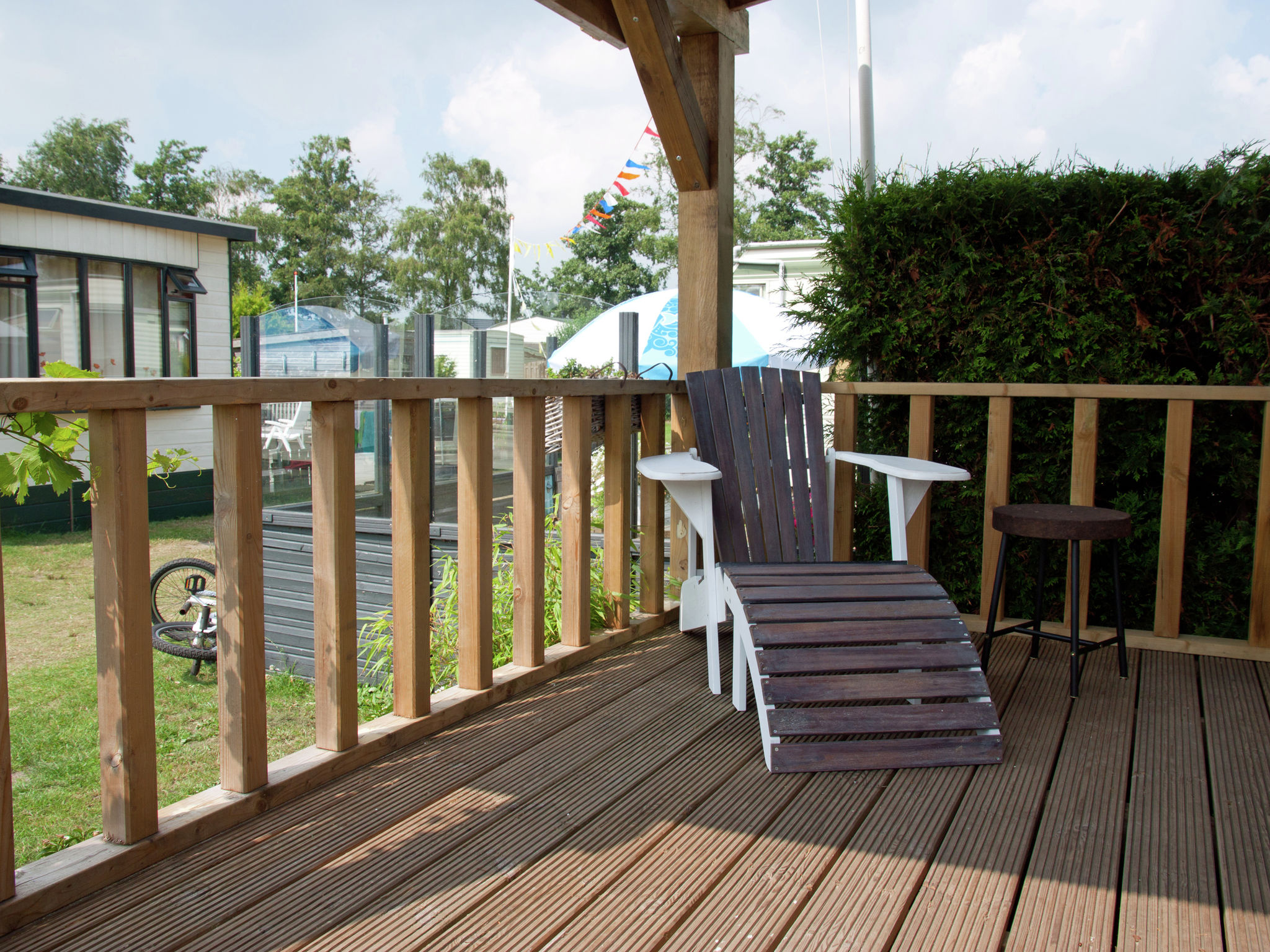 Holland | Friesland | Holiday home Chalet Veranda | all year | TerraceBalcony