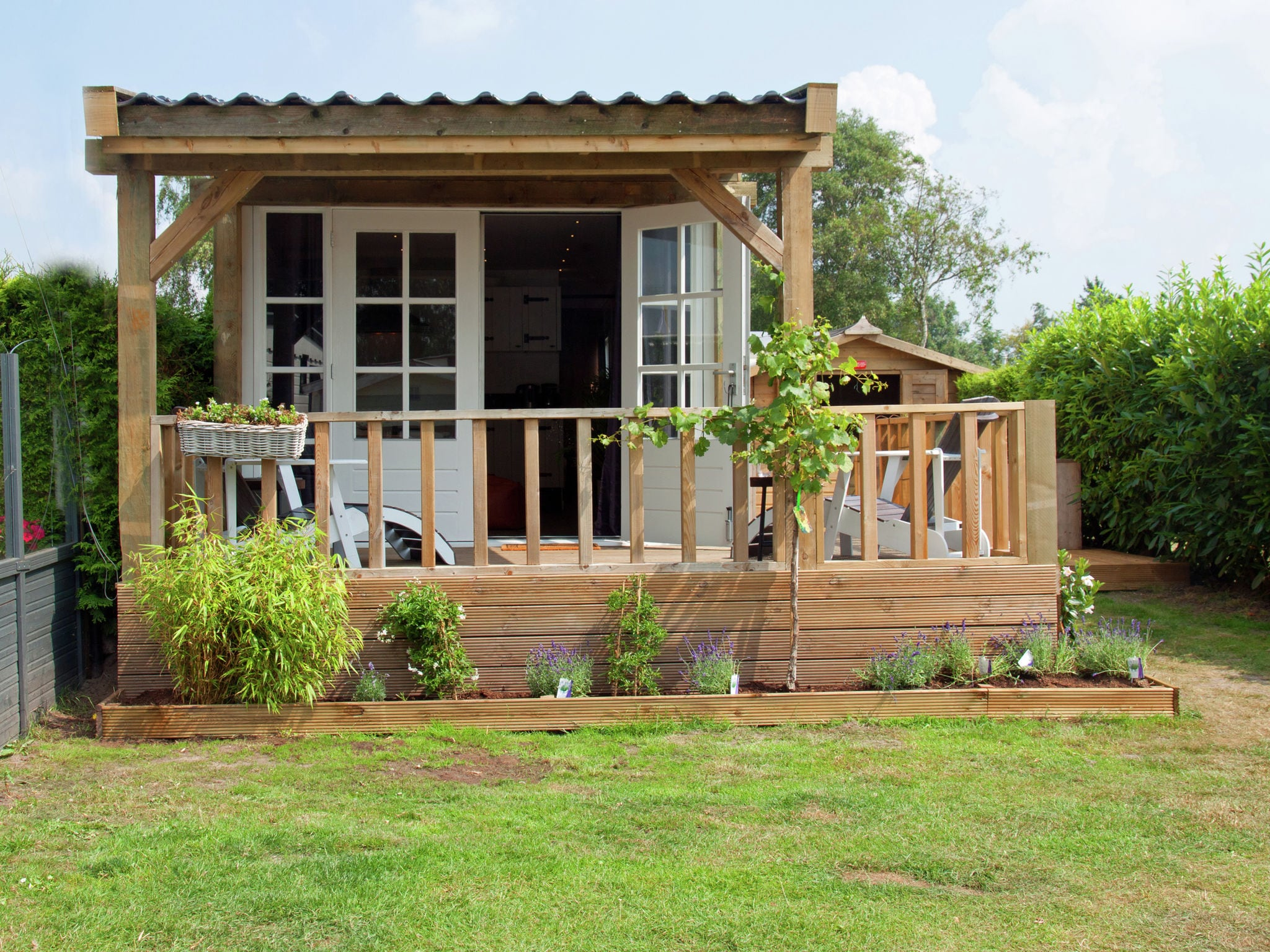 Holland | Friesland | Holiday home Chalet Veranda | all year | ExteriorSummer