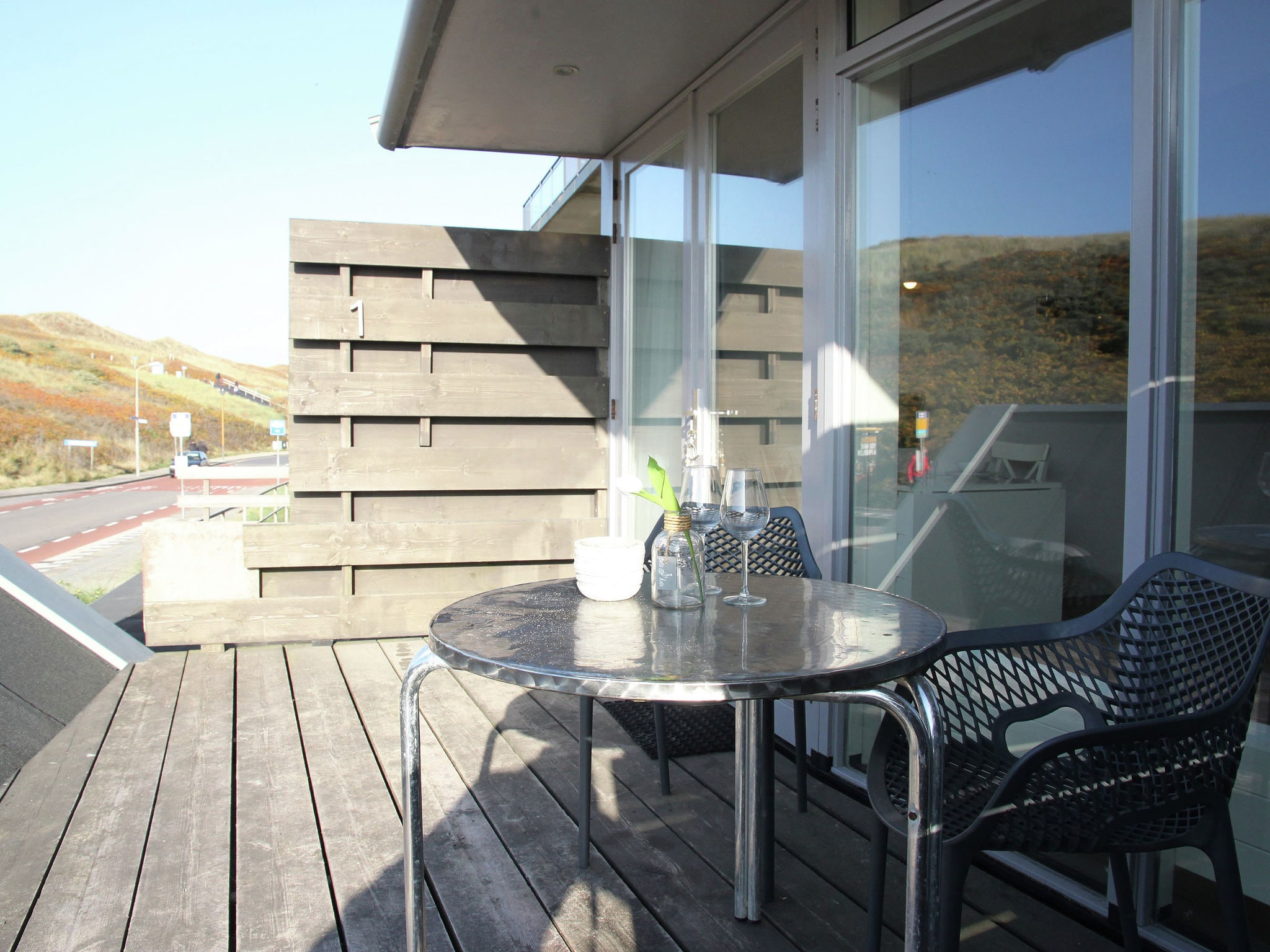 Holland | North Sea Coast North | Holiday home de Duynsuites | all year | TerraceBalcony
