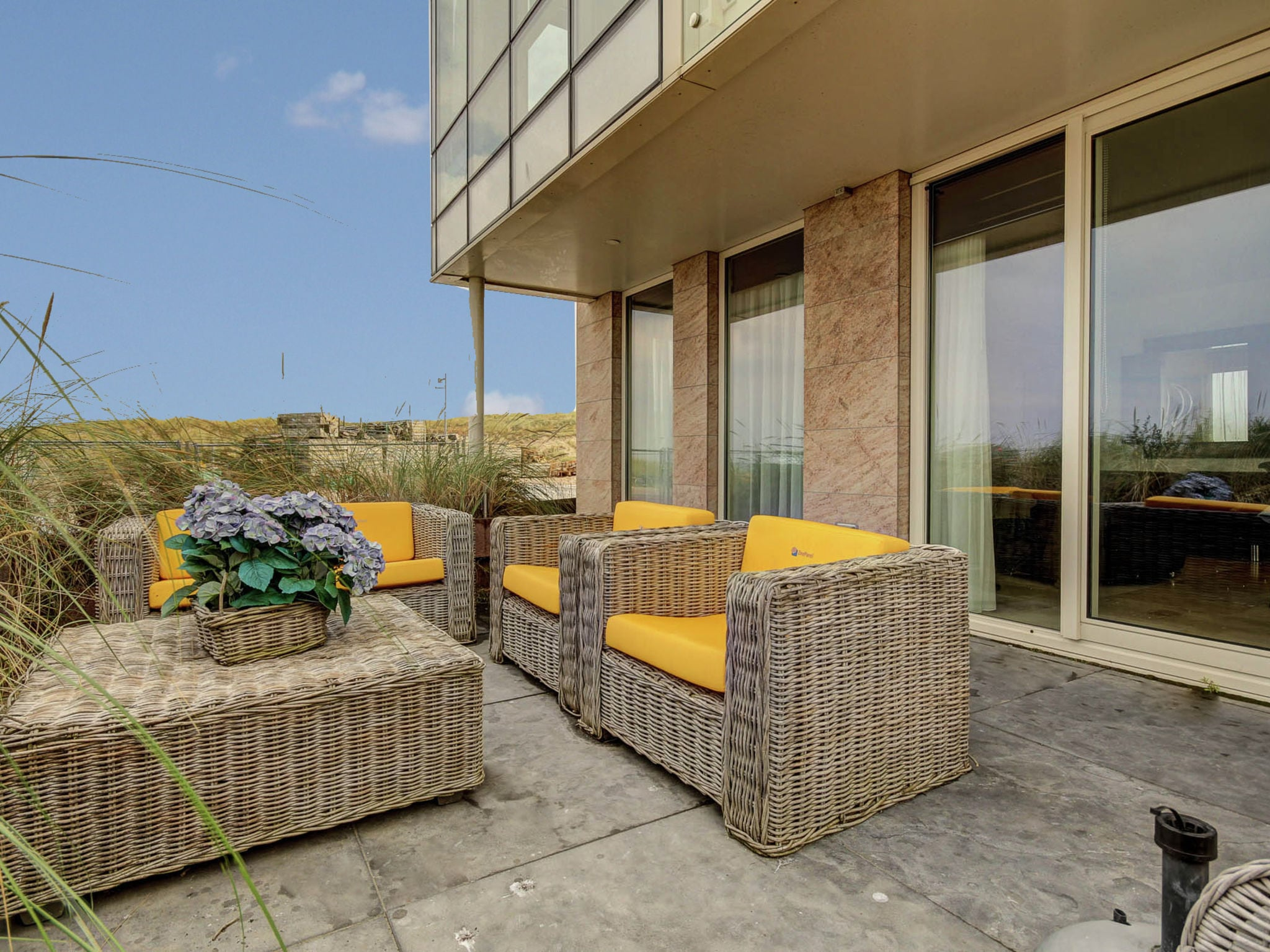 Holland | North Sea Coast North | Holiday home De ZeeParel - Red Lobster | all year | TerraceBalcony