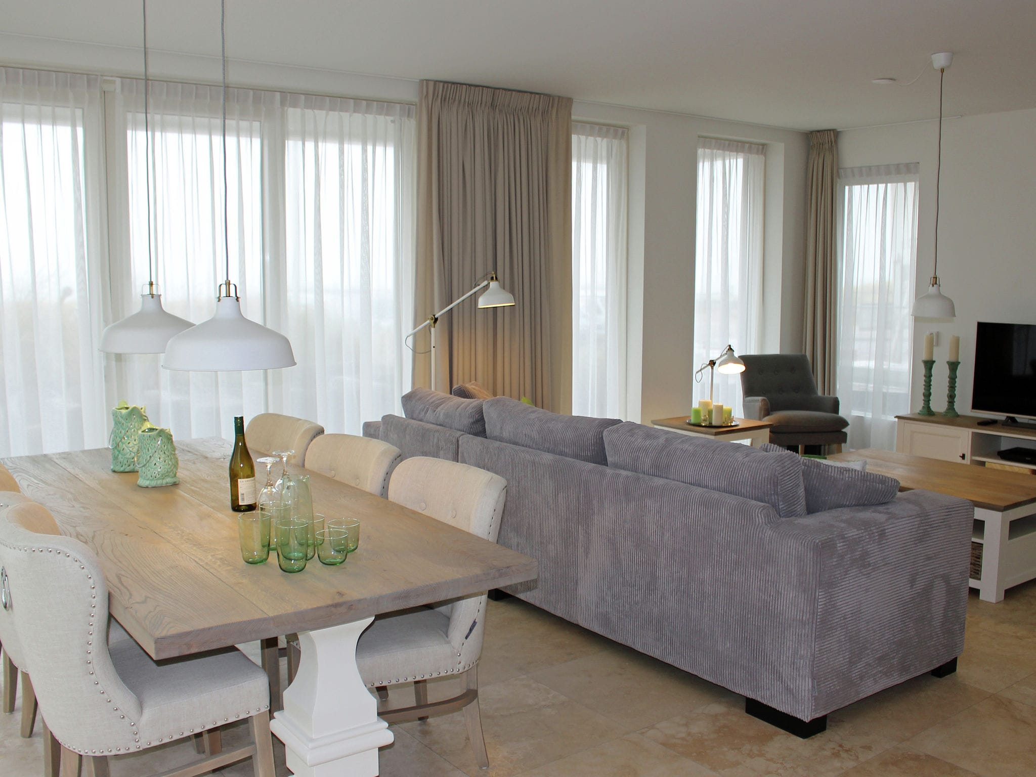 Holland | North Sea Coast North | Holiday home De ZeeParel - Red Lobster | all year | LivingRoom