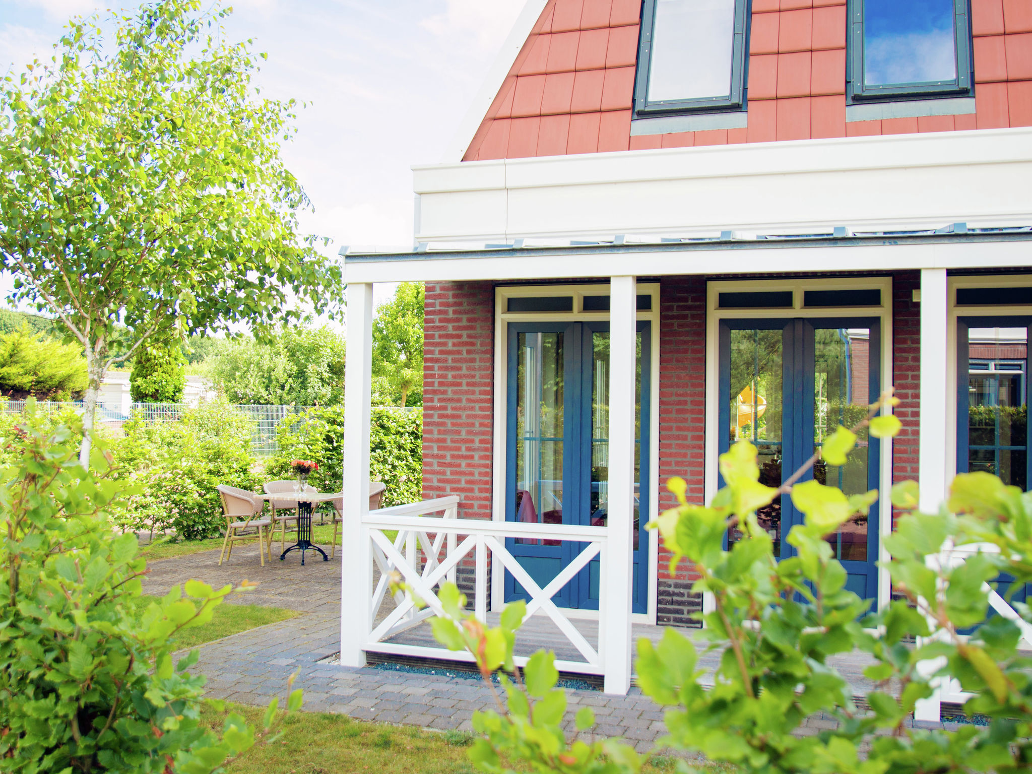Holland | North Sea Coast South | Holiday home Bungalowparck Tulp en Zee | all year | GardenSummer