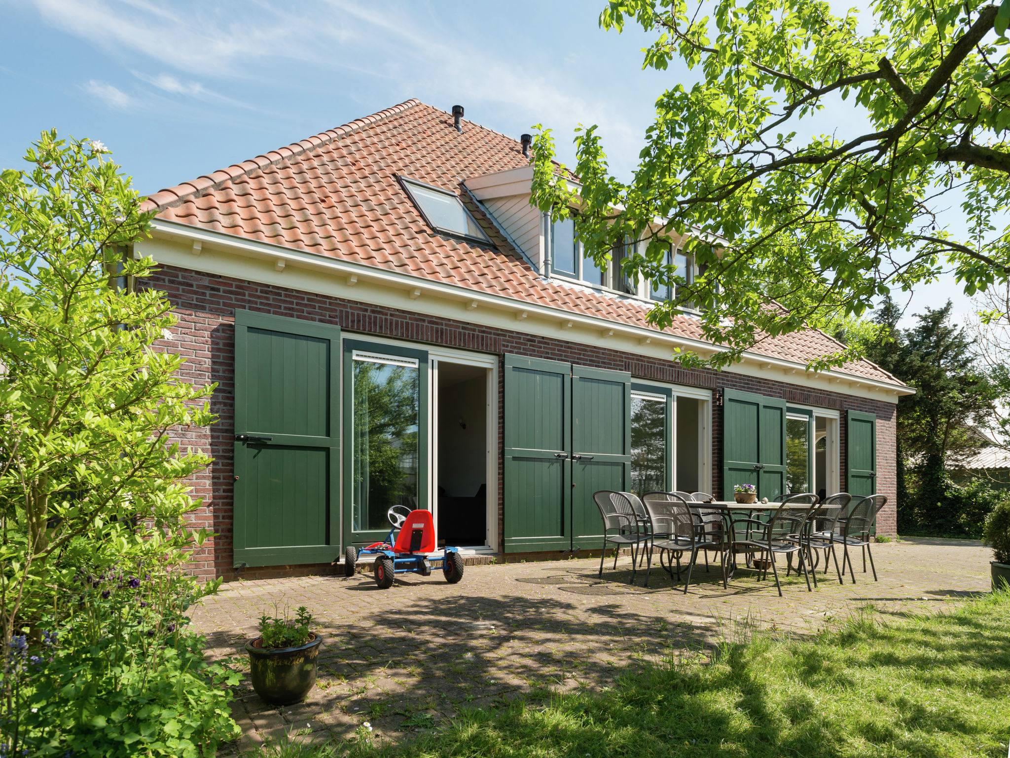 Holland | North Sea Coast North | Holiday home Van Vuure | all year | ExteriorSummer