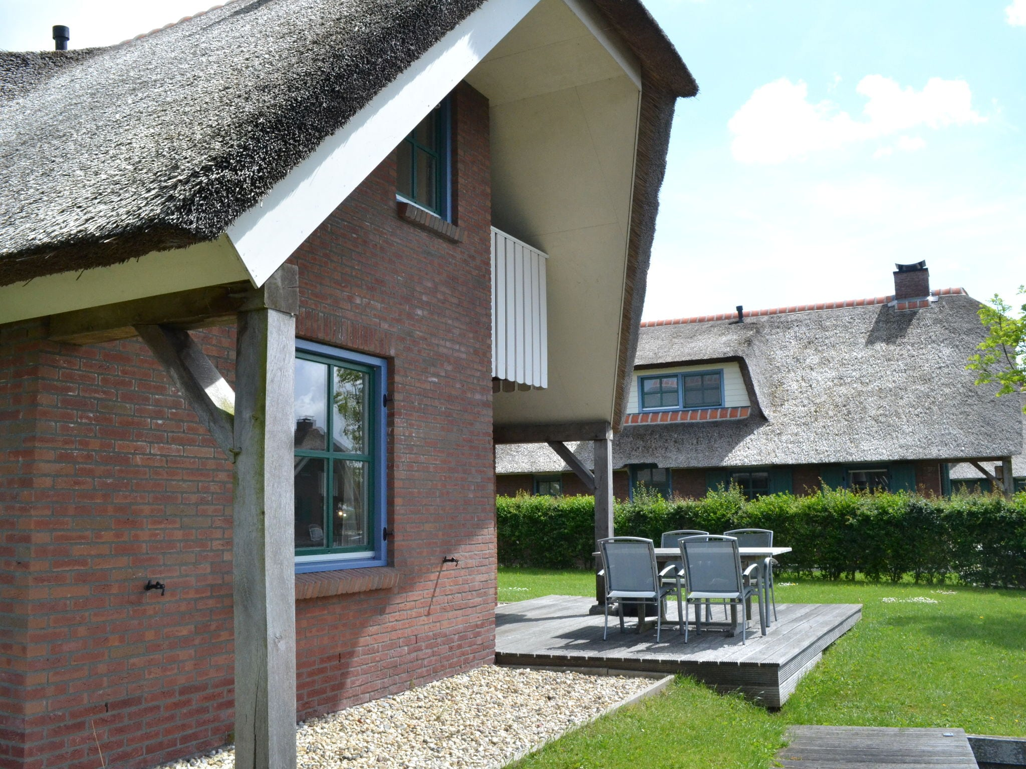 Holland | Overijssel | Holiday home Waterpark Belterwiede - Type Gaarde | all year | TerraceBalcony