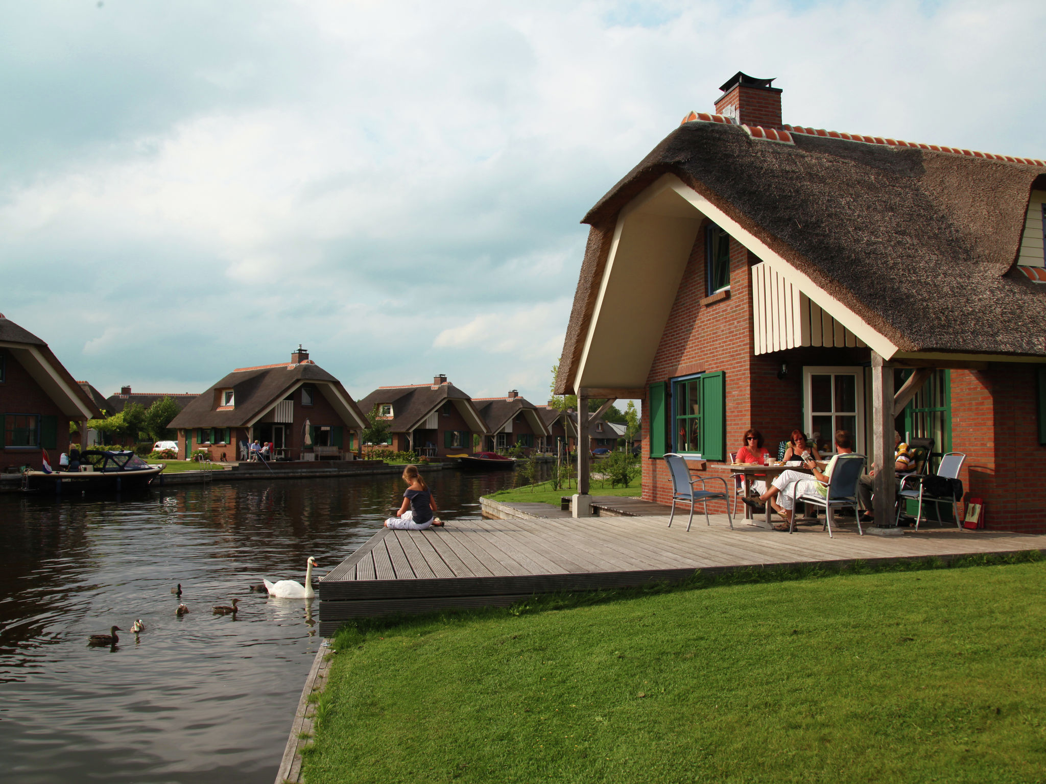 Holland | Overijssel | Holiday home Waterpark Belterwiede - Type Gaarde | all year | ExteriorSummer