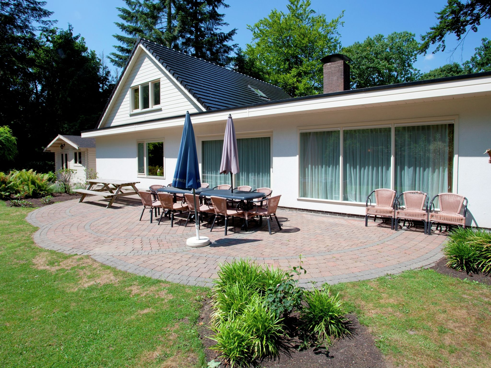 Holland | Gelderland | Holiday home Bospark Ede | all year | ExteriorSummer