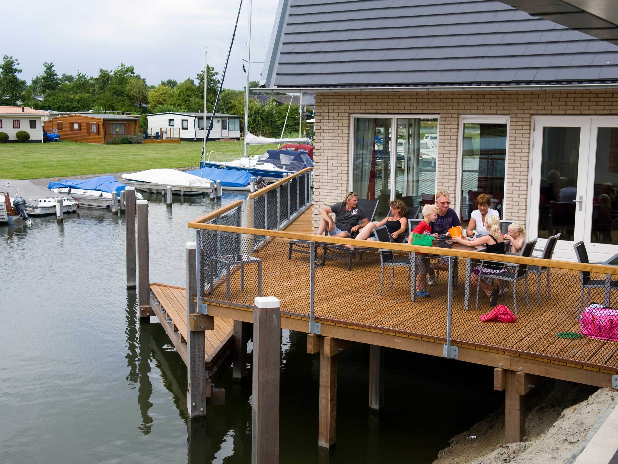 Holland | Zeeland | Holiday home Waterpark Veerse Meer - Watervilla Comfort 8 | all year | TerraceBalcony