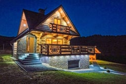 A luxury villa in the Tatra Mountains