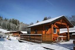 Tuin winter Schwarzwaldhaus Pferdeklause