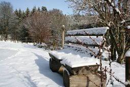 Omgeving winter 5km Schwarzwaldhaus Pferdeklause