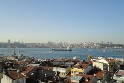 Lejlighed BOSPHORUS DUPLEX FLAT WITH SEA VIEW TERRACE