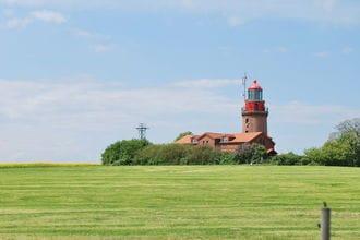 Blick Zum Leuchtturm