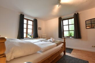 Villa Seeheim Wohnung mit Balkon auf Wassergrundstück - Nr 4