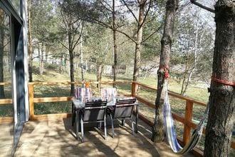 Nowoczesny dom w Lesie nad jeziorem