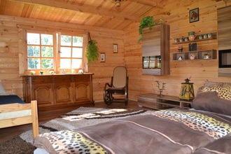Naturblick & Blockhütte Sommer