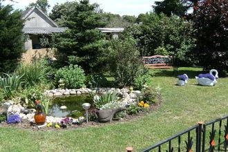 Kleintierbauernhof mit Gartenterrasse