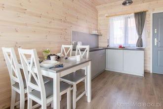 Apartament w domku drewnianym Amelia