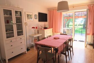 A holiday home in the countryside 7 km from the beach