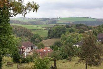 Blick zu Luxemburg