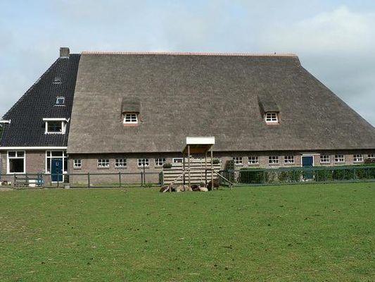Friesland Appartementen te huur Stolpboerderij in het rustige dorp Arum.
