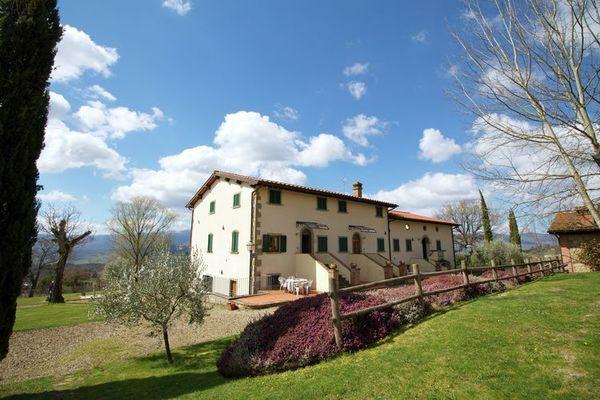Vakantie accommodatie Poppi Toscane 4 personen