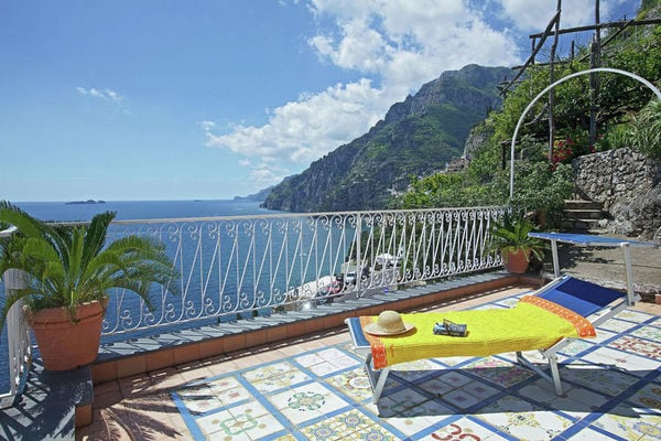 Vakantie accommodatie Positano Napels / Campania 4 personen
