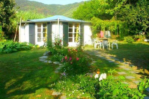 Vakantie accommodatie Ameglia Bloemenriviera,Ligurië,Noord-Italië 2 personen