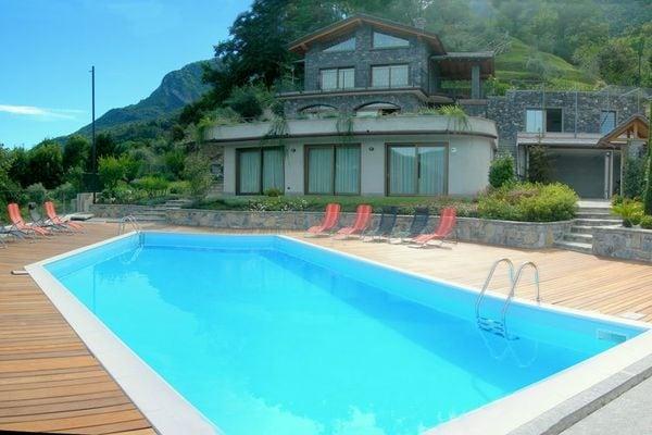 Vakantie accommodatie Italiaanse meren,Comomeer,Lombardije,Noord-Italië Italië 10 personen