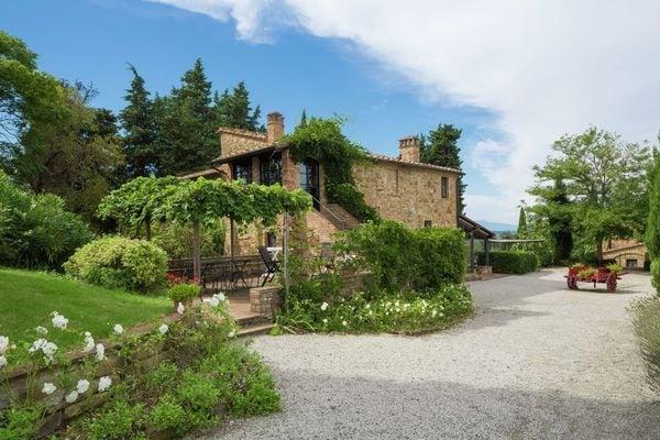 Vakantie accommodatie Gambassi Terme Toscane,Florence en omgeving 6 personen