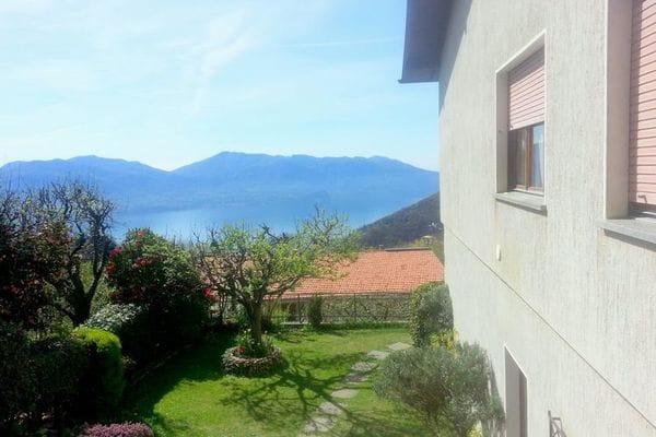 Vakantie accommodatie Trarego Italiaanse meren,Lago Maggiore,Noord-Italië,Piemonte 4 personen