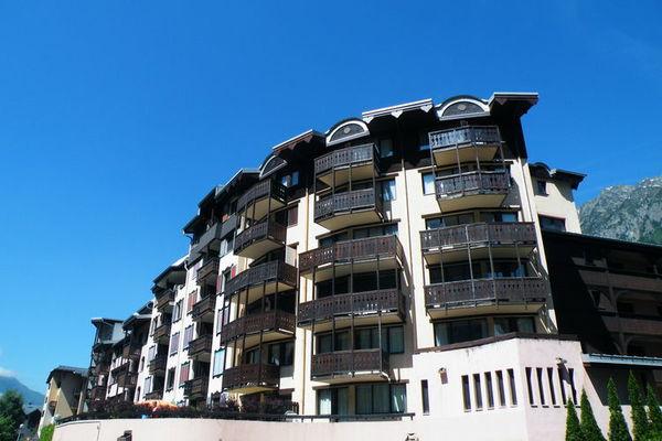 Ferienwohnungen/Ferienhäuser: 2 Zimmer-Wohnung nur 5 Minuten zu Fuß vom Stadtzentrum von Chamonix (max. 4 Personen)